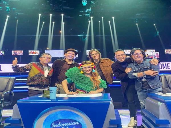 Foto Ini Ekspresi para Juri Indonesian Idol 2020 - 2021 Menyambut Musim Kesebelas