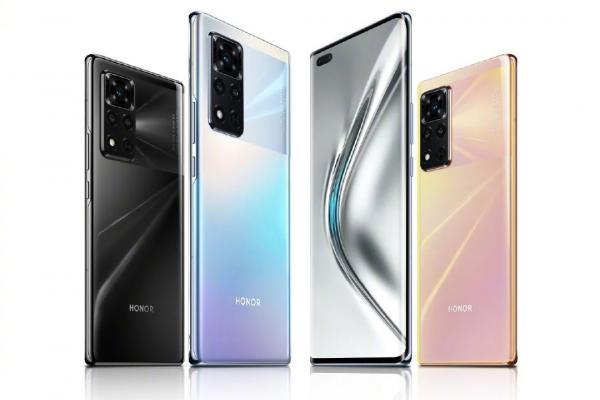 Gambar Luncurkan Handset Perdana Usai Pisah dengan Huawei, Ini Spesifikasi HP Android Honor V40 5G