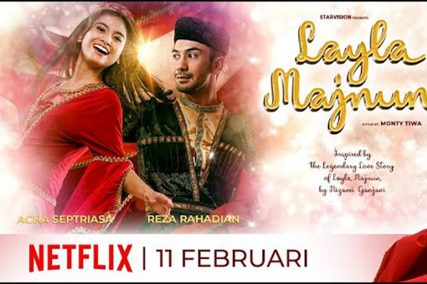 Gambar Sarat Nuansa Azerbaijan, Film Layla Majnun Tayang Perdana di Netflix 11 Februari 2021
