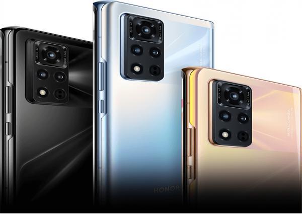 Foto Luncurkan Handset Perdana Usai Pisah dengan Huawei, Ini Spesifikasi HP Android Honor V40 5G