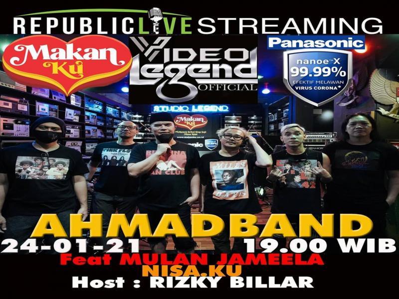 Foto Bikin Konser Virtual, Ahmad Dhani Ajak Yoyo Padi, Thomas Gigi & Stephan Musikimia Jadi Personel Baru Ahmad Band